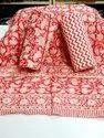 Meera Handicrafts Block Printed Suit Sets