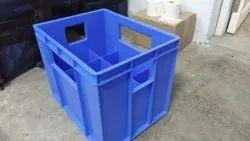 Plactic Crates Milk Bottle 12pcs