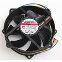 Sunon Cooling Fan KDE1209PTVX  92x92x25mm For CPU Cooling fan 12VDC 0.37A with PWM 4pin