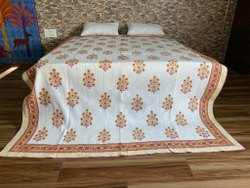 Big Flower Printed Quilted Bed Covers AC