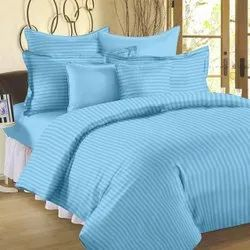 Dashing look Satin Stripe Bed Sheet