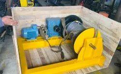 Electric operated Winch Machine