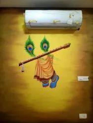 Krishna Wall Art Painting