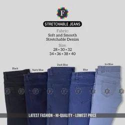 Girls Regular Fit Denim jeans