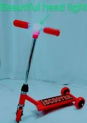 Three Wheeled Kids kick Scooter for Preschool Kids (Red), For Inside And Outside, Size: Lxwxh 60x26x65