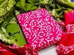 Casual Wear Batik print pure cotton, 2.5m
