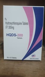 HQDS 300 Hydroxychlorquine Sulphate Hydroxychloroquine Sulfate Tablet, Allu Allu, Treatment: Rhumatoid Arthritis