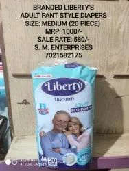 Liberty adult pant style large size pullups diapers -20 piece