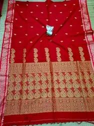 Khadi Cotton Weaving Jamdani Sarees