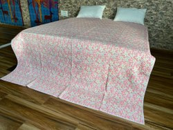 Meera Handicrafts Cotton Machine Quilted Quilts