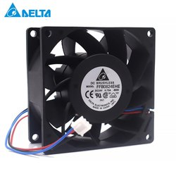 Delta Cooling Fan FFB0824EHE 24V 0.75A, FFB0824SHE 24V 0.60A 3 wire