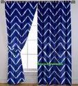 Tie Dye Shibory Printed Curtains