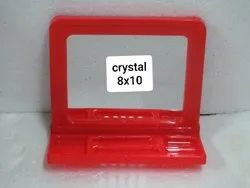 PP Pink Blue Green Cream Red VR-Crystal 8x10 Mirror Frame