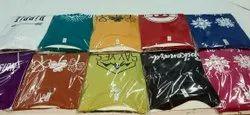Nj brand Half Sleeve Girls tshirt