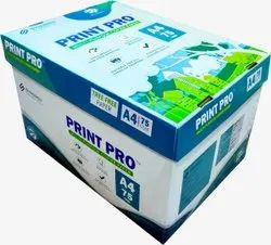 Natural White A4 Size Copier Paper, Packaging Size: 500 Sheets per pack, Packaging Type: 10 Pack in One Cartoon
