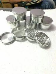 62 Mm Silver Grinders