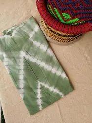 Cotton 44-45 Tie Dye Print Fabric, For Garments, GSM: 50-100
