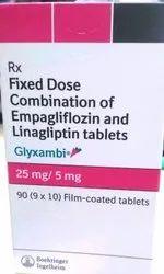 Glyxambi 25 Mg 5mg Tablet