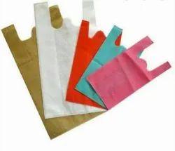 Non woven bags second w-cut