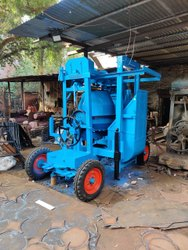 Diesel Semi-Automatic Concrete Mixer Machine With Lift, 2 Ton, Capacity: 1bag