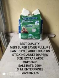 Pant Type Medisuper adult pullups diaper- medium