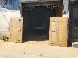 Brown Main Door