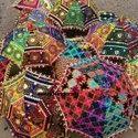 Meera Handicrafts Embroidered Umbrella