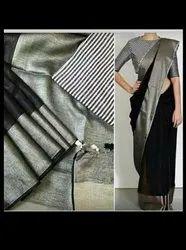 Authentic Linen Sarees