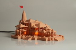 Ram Mandir Ayodhya Replica V2