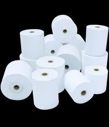 Plain 100 mm Paper roll, GSM: Less than 80 GSM, Packaging Type: Box