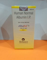 Alburel (Reliance) Human Albumin, For Hospital, 2-25 Degreec