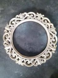 Brown Carved Wall mirror frame, Size/Dimension: 17x17