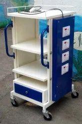 Hospital Endoscopy Trolley