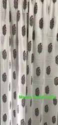 Sanganeri Printed Cotton Curtains