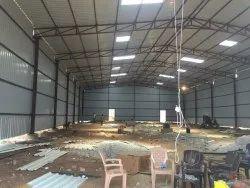Steel Prefab Industrial Sheds