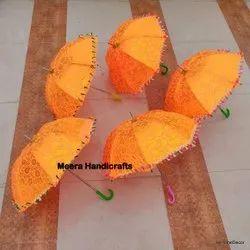 Multicolor Wedding Embroidered Umbrella