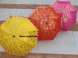 Handmade Decorative Embroidered Umbrella