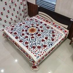 Embroidered Cotton Bed Sheets