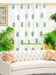 Door Block Printed Curtains