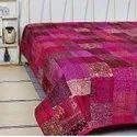 Indian Handmade Kantha Bedcover