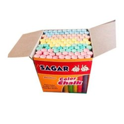 Sagar School Dustless Color Chalk