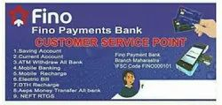 Money Transfer Fino Payment Bank CSP Service, Banking