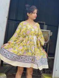 Jaipuri Printed Kaftan
