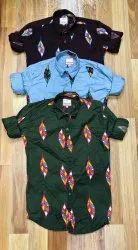 Own Cotton Drill Shirt's, Size: Mlxl