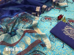 Chanderi With Kota Silk Duaptta
