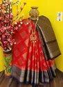 Banarasi Kora Silk Weaving Saree