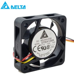 Delta Fan EFB0412MA 4010 12V 0.09A 4CM Double ball bearing cooling fan 40X40X10MM
