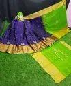 Uppada Pattu Silk Sarees With Maggam Work