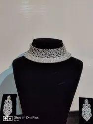 American Diamond White Artificial Jewellery