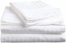 Plain White Cotton Bed Sheet